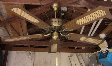 Caribbean Ceiling Fan by Unknown Caribbean Electric Inc 5 Blade Ge Vent Ceiling Fan