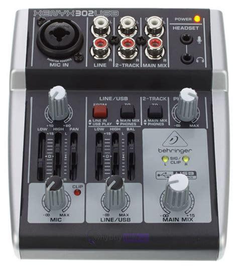 Mixer Xenyx 302 behringer xenyx 302 usb whybuynew co uk