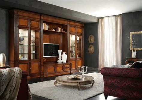 atelier wall unit busatto wood furniture biz