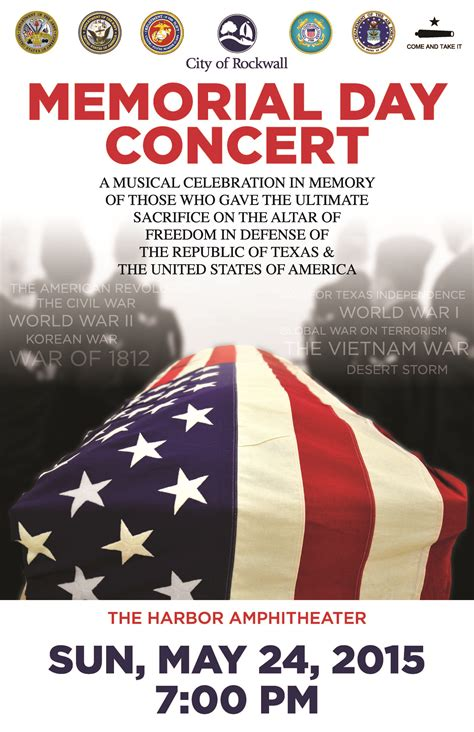 printable remembrance day poster city of rockwall to host memorial concert sunday at the