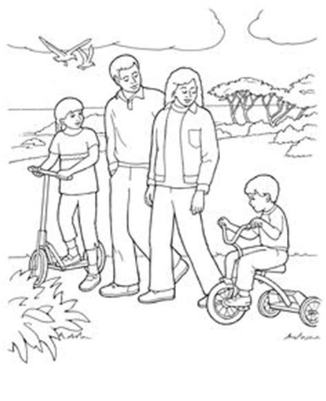 lds coloring pages families can be together forever 1000 images about lds primary coloring pages on pinterest