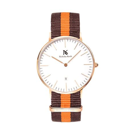 Nicholas Keith 40mm jual nicholas keith kingston nk7001 gold jam tangan