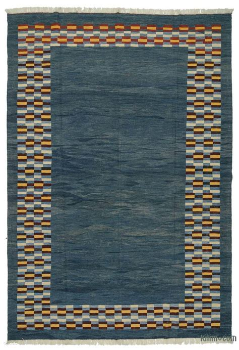 new kilim rugs k0005824 blue new turkish kilim rug