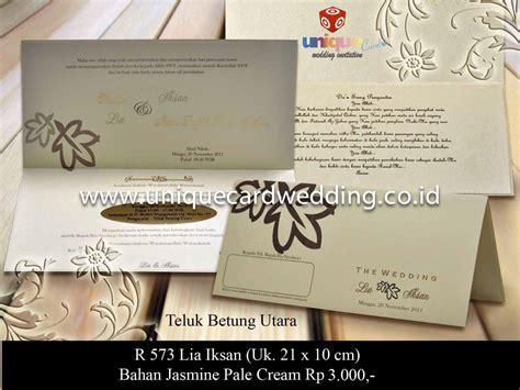 Undangan Pernikahan Sakral 221 undangan pernikahan lia iksan unique card wedding invitation media