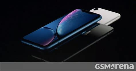 four days into the pre order caign the iphone xr s initial stock is gsmarena news
