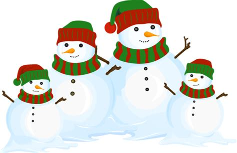 snowman clipart great clip of snowmen and carolers snowman family