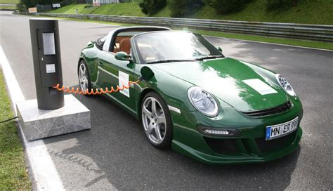 Ruf E Porsche by Quot Gro 223 Er Fahrspa 223 Quot Porsche Tuner Ruf 252 Ber Elektroautos