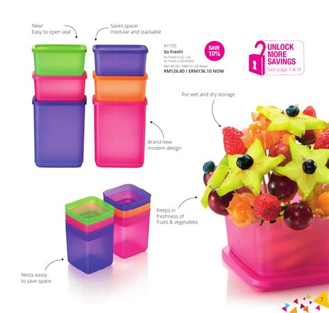 Tupperware Large Summer Fresh katalog tupperware malaysia catalogue collection business opportunity 1 april