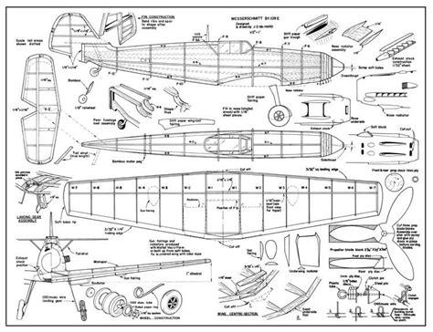 e plans messerschmitt bf 109 e plans aerofred free
