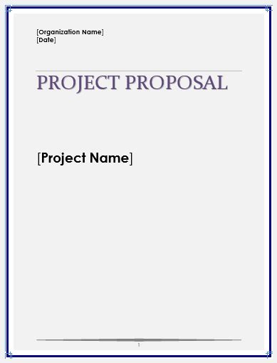 proposal template new calendar template site