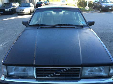 volvo  bertone coupe black wtan interior classic volvo    sale