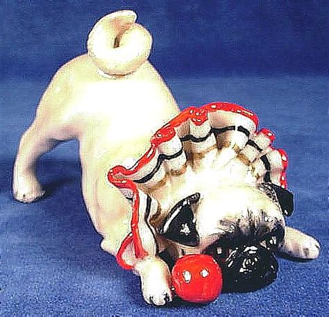 my pug is scratching constantly time dances by pug figurines pp522