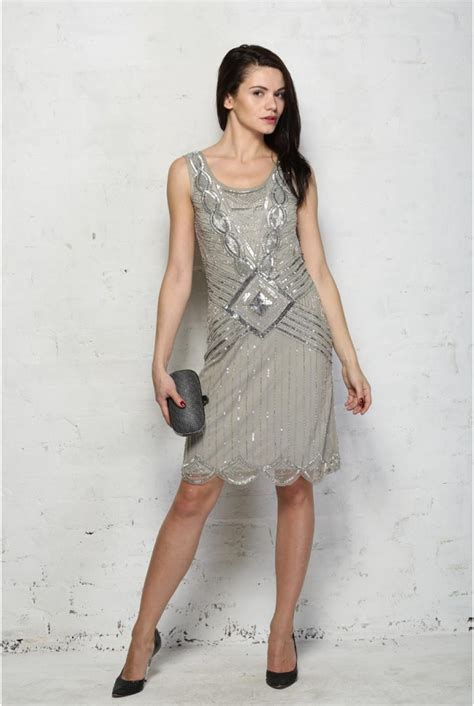 fashion outfits for women in their 20s frock frill grey 20s style dress frock frill athena