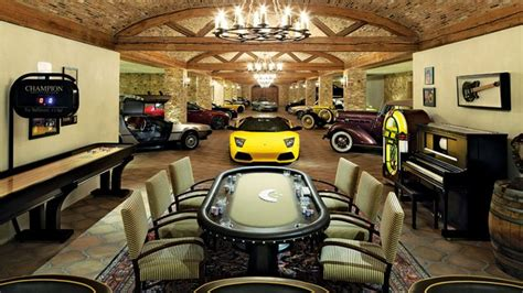 Rich Garage by Luxurious And Lavish Garage Lifestyles Of The