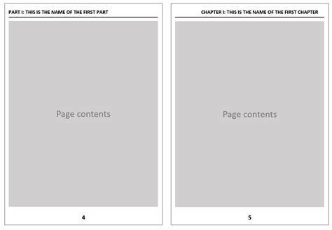 book layout headers fancyhdr header and footer for a book using part on