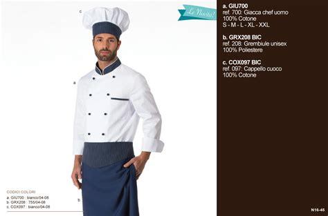cuoco in cucina giacche pantaloni cappelli grembiuli per chef cuochi