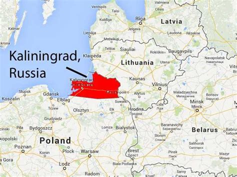 russia neighbours map russia will no longer tell lithuania about its weapons in