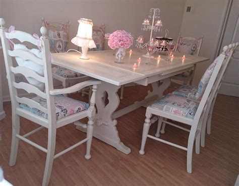 shabby chic dining room set shabby chic dining room set for sale 28 images