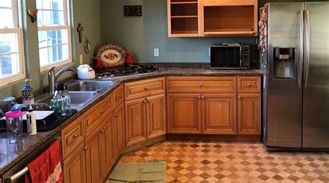 Kitchen Cabinet Coatings Kitchen Cabinet Resurfacing For Less Than 200 Will Knock Your Socks S World