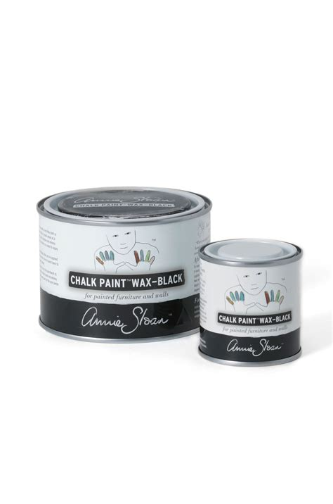 chalkboard paint and wax black chalk paint 174 wax sloan