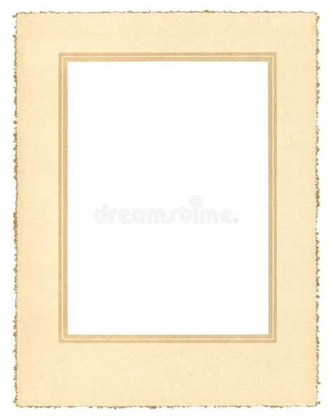 Paper Frame And Deckle - vintage paper frame stock images image 22269704