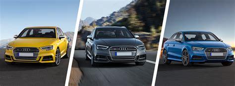 Audi A3 Vs A3 Sportback by Audi A3 Hatchback Vs A3 Sportback Vs A3 Saloon Carwow