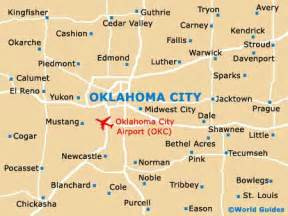 map of will rogers world airport okc orientation and