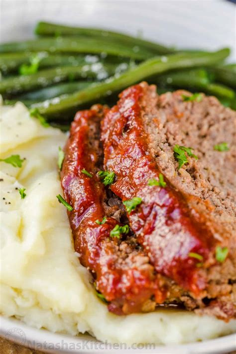 meatloaf recipe best meatloaf recipe with the best glaze natashaskitchen