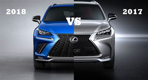 Home Interior Design Concepts by 2018 Vs 2017 Lexus Nx A Game Of Spot The Differences