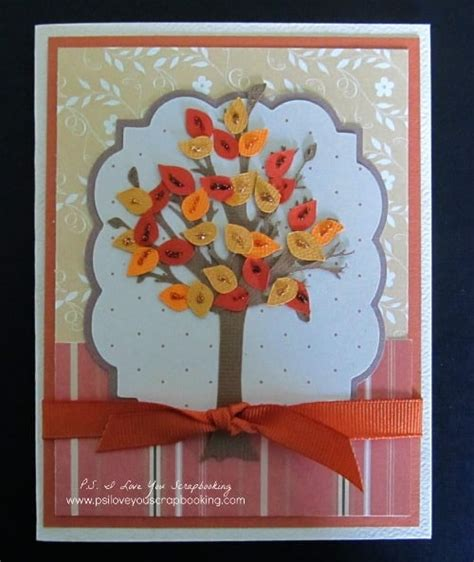 fall cards to make cards archives p s i you crafts