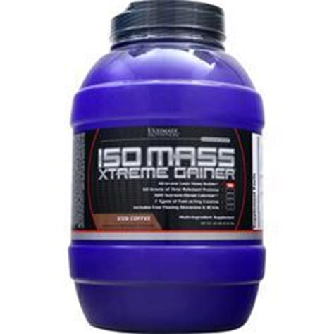 Iso Mass Gainer 10 11 Lbs ultimate nutrition iso mass xtreme gainer on sale at