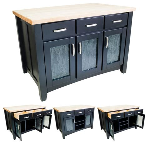 black kitchen island cart lyn design isl07 blk black kitchen island transitional kitchen islands and kitchen carts