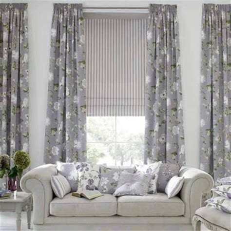 Grey Living Room Curtains Decorating Living Room Design Ideas Modern Curtains