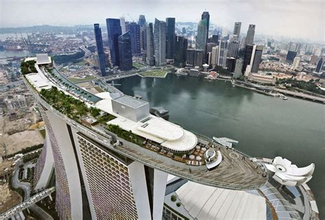Private Dining Rooms Boston by Greenroofs Com Projects Marina Bay Sands Integrated