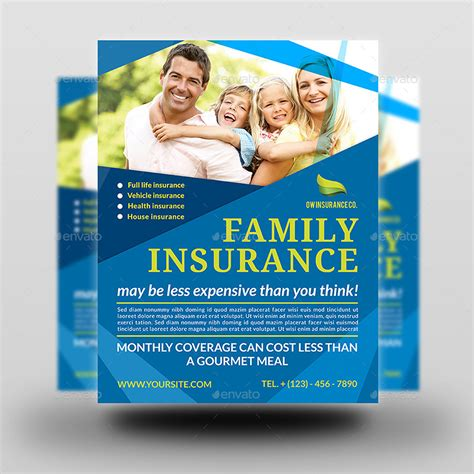 Insurance Flyer Templates Insurance Flyer Template By Owpictures Graphicriver