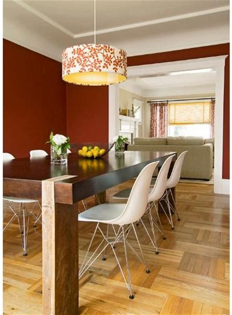burnt orange dining room 33 best images about accent wall bedroom on pinterest