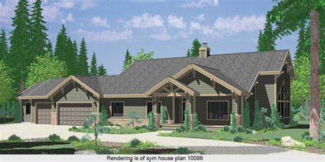 gable roof house plans ranch house plans american house design ranch style home