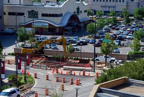 haircuts cherry creek denver denver sewer construction near cherry creek mall completed