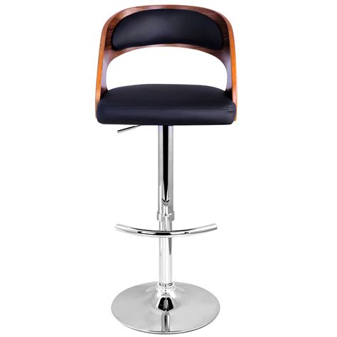 bar stool buy buy pu leather wooden kitchen bar stool padded seat black