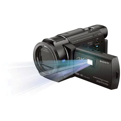 and camcorder sony 64gb fdr axp35 4k camcorder with built in fdraxp35e b h