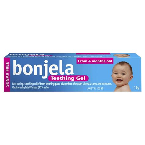 buy bonjela teething gel fast acting 15g at chemist