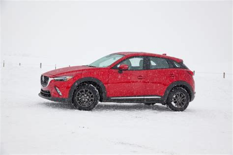 different mazda models snowy slides and top rides at mazda s academy