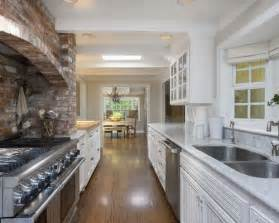 best alley kitchen design ideas remodel pictures houzz