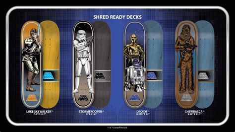 Deck Box Wood by Get Familiar New Santa Cruz Star Wars Collectible Skate