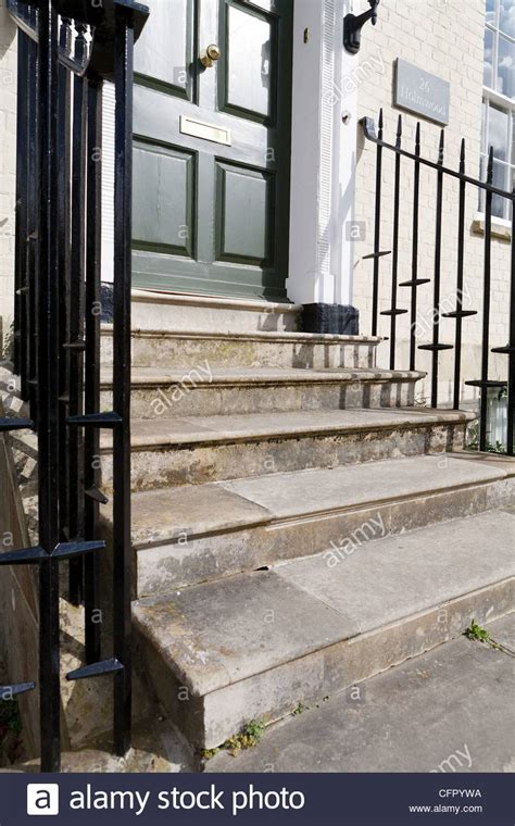 how to build steps to a front door steps leading to front door uk stock photo