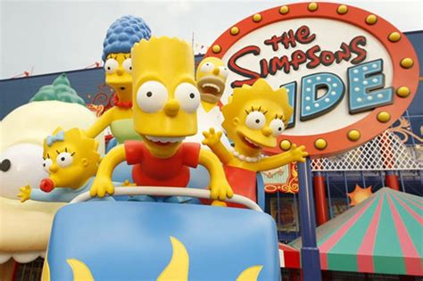 theme park on the simpsons d oh simpsons theme park to open this summer aol uk travel