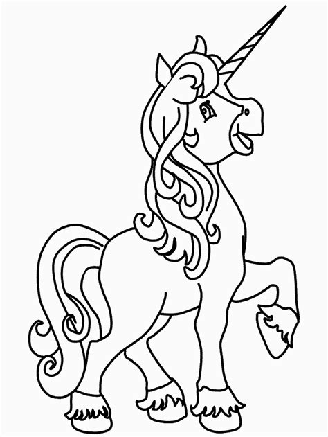 Unicorn Coloring Pages Coloringpages1001 Com Colour Pages