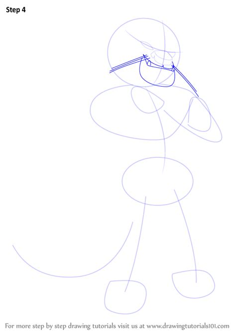 Kung Fu Panda Outline by Learn How To Draw Lung Leopard From Kung Fu Panda Kung Fu Panda Step By Step Drawing
