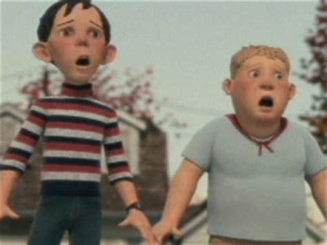 the cast of monster house monster house scene detectable movement clip 2006 video detective