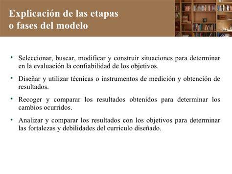 Modelo Curricular De Ralph W El Model Curricular De Ralph